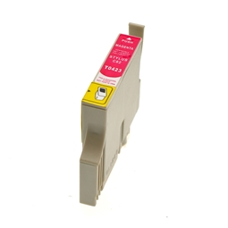 Logic-Seek  Tintenpatrone kompatibel zu Epson Stylus C82 T0423 C13T04234010 XL Magenta