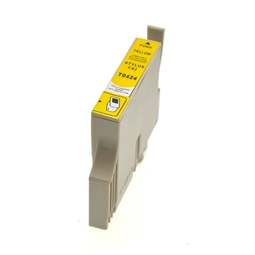 Logic-Seek  Tintenpatrone kompatibel zu Epson Stylus C82 T0424 C13T04244010 XL Yellow