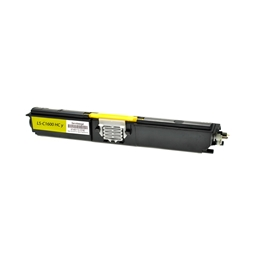 Logic-Seek  Toner kompatibel zu Epson C1600 0554 C13S050554 HC Yellow