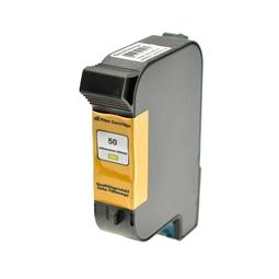 Logic-Seek  Tintenpatrone kompatibel zu HP 50 51650YE XL Yellow
