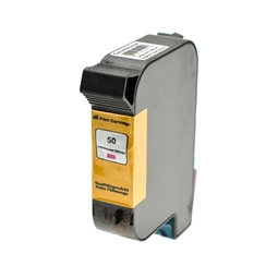 Logic-Seek  Tintenpatrone kompatibel zu HP 50 51650ME XL Magenta
