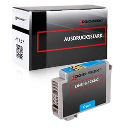 Logic-Seek  Tintenpatrone kompatibel zu Epson Stylus SX230 T1292 C13T12924010 XL Cyan