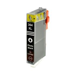 Logic-Seek  Tintenpatrone kompatibel zu HP 364XL CB322EE XL Photo Schwarz