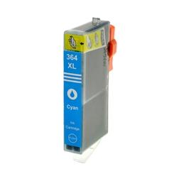 Logic-Seek  Tintenpatrone kompatibel zu HP 364XL CB323EE XL Cyan