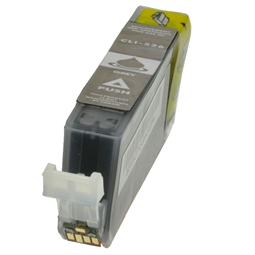 Logic-Seek  Tintenpatrone kompatibel zu Canon CLI-526GY 4544B001 XL Grau