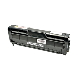 Logic-Seek  Toner kompatibel zu Ricoh SPC-220 SPC-240 TYPESPC220E 406094 HC Schwarz