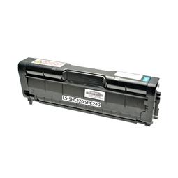 Logic-Seek  Toner kompatibel zu Ricoh SPC-220 SPC-240 TYPESPC220E 406097 HC Cyan