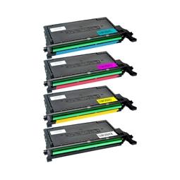 Logic-Seek 4 Toner kompatibel zu Samsung CLP-620 HC