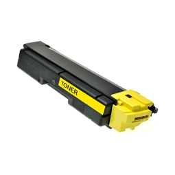 Logic-Seek  Toner kompatibel zu Kyocera TK-590Y 1T02KVANL0 HC Yellow