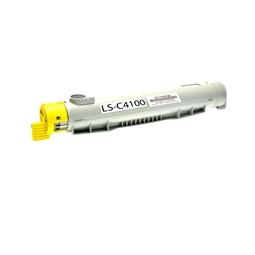 Logic-Seek  Toner kompatibel zu Epson C4100 S050148 C13S050148 HC Yellow