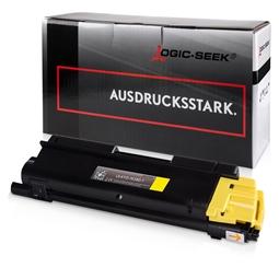 Logic-Seek  Toner kompatibel zu Kyocera TK-580Y 1T02KTANL0 HC Yellow