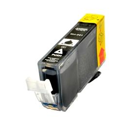 Logic-Seek  Tintenpatrone kompatibel zu Canon CLI-521GY 2937B001 XL Grau
