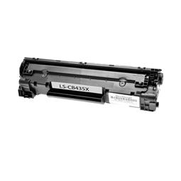 Logic-Seek  Toner kompatibel zu Hp 35A CB435A UHC Schwarz