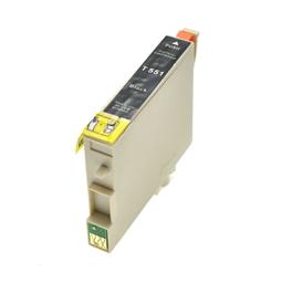 Logic-Seek  Tintenpatrone kompatibel zu Epson Stylus R240 T0551 C13T05514010 XL Schwarz