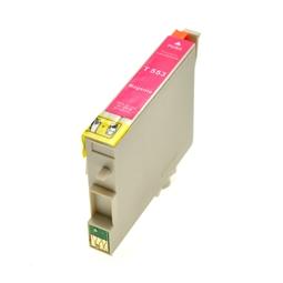 Logic-Seek  Tintenpatrone kompatibel zu Epson Stylus R240 T0553 C13T05534010 XL Magenta