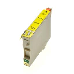 Logic-Seek  Tintenpatrone kompatibel zu Epson Stylus R240 T0554 C13T05544010 XL Yellow