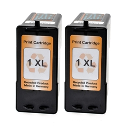 Logic-Seek 2 Tintenpatronen kompatibel zu Lexmark 1HC 18CX781E XL Color