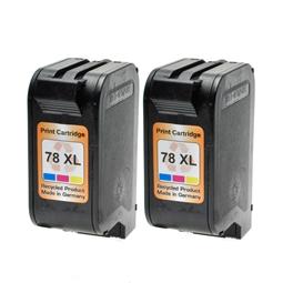 Logic-Seek 2 Tintenpatronen kompatibel zu HP 78 C6578AE XL Color