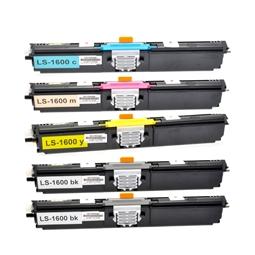 Logic-Seek 5 Toner kompatibel zu Konica Minolta 1600 HC