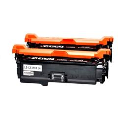 Logic-Seek 2 Toner kompatibel zu HP 504X CE250X HC Schwarz