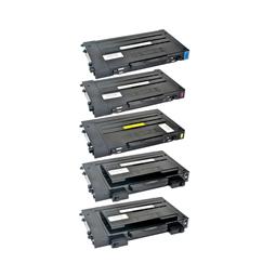 Logic-Seek 5 Toner kompatibel zu Samsung CLP-500 CLP-550 HC