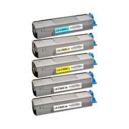 Logic-Seek 5 Toner kompatibel zu OKI C5650 HC
