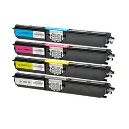 Logic-Seek 4 Toner kompatibel zu Epson C1600 HC