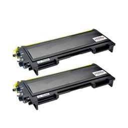 Logic-Seek 2 Toner kompatibel zu Brother TN-2000 HC Schwarz