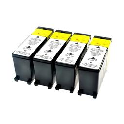 Logic-Seek 4 Tintenpatronen kompatibel zu Lexmark 100XLA 14N1092E XL Schwarz