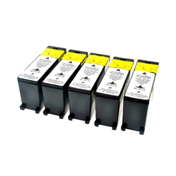 Logic-Seek 5 Tintenpatronen kompatibel zu Lexmark 100XLA 14N1092E XL Schwarz