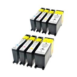 Logic-Seek 8 Tintenpatronen kompatibel zu Lexmark 100 XL