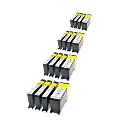 Logic-Seek 16 Tintenpatronen kompatibel zu Lexmark 100XLA XL