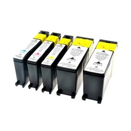 Logic-Seek 5 Tintenpatronen kompatibel zu Lexmark 100XLA XL