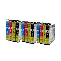 Logic-Seek 12 Tintenpatronen kompatibel zu Epson T1281-T1284 XL