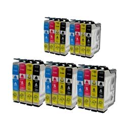 Logic-Seek 20 Tintenpatronen kompatibel zu Epson T1281-T1284 XL