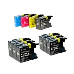 Logic-Seek 10 Tintenpatronen kompatibel zu Brother LC-1280 XL