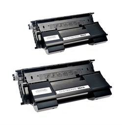 Logic-Seek 2 Toner kompatibel zu OKI B6200 B6300 9004078 HC Schwarz