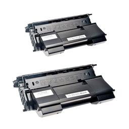 Logic-Seek 2 Toner kompatibel zu OKI B6500 9004462 HC Schwarz