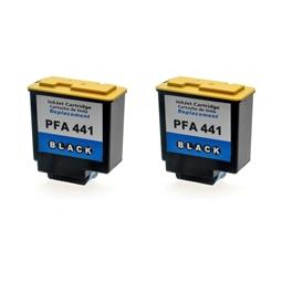 Logic-Seek 2 Tintenpatronen kompatibel zu Philips 253014355 PFA-441 XL Schwarz
