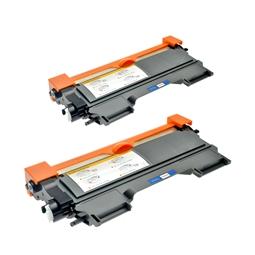 Logic-Seek 2 Toner kompatibel zu Brother TN-2220 HC Schwarz