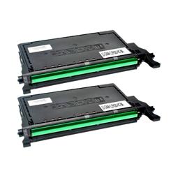 Logic-Seek 2 Toner kompatibel zu Samsung CLP-620 K5082L CLT-K5082L/ELS HC Schwarz