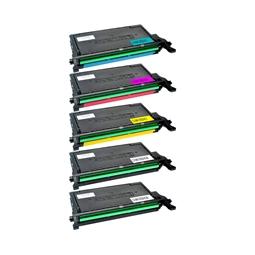 Logic-Seek 5 Toner kompatibel zu Samsung CLP-620 HC