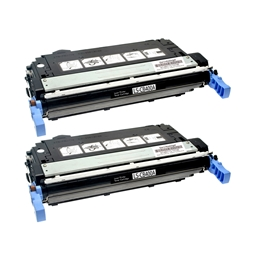 Logic-Seek 2 Toner kompatibel zu HP 642A CB400A HC Schwarz