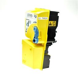 Logic-Seek  Toner kompatibel zu Kyocera TK-820Y 1T02HPAEU0 HC Yellow