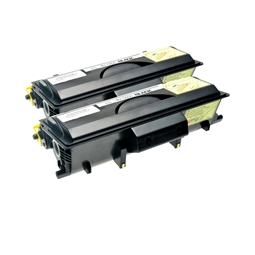 Logic-Seek 2 Toner kompatibel zu Brother TN-5500 HC Schwarz