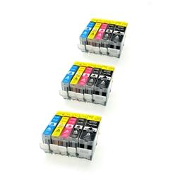 Logic-Seek 15 Tintenpatronen kompatibel zu Canon PGI-5 CLI-8 XL