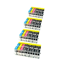Logic-Seek 25 Tintenpatronen kompatibel zu Canon PGI-5 CLI-8 XL