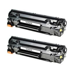 Logic-Seek 2 Toner kompatibel zu HP 85A CE285A HC Schwarz
