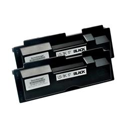 Logic-Seek 2 Toner kompatibel zu Kyocera TK-17 1T02BX0EU0 HC Schwarz