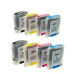 Logic-Seek 8 Tintenpatronen kompatibel zu HP 10 11 XL